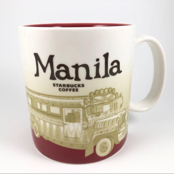 Starbucks mug Manila Collector Series
